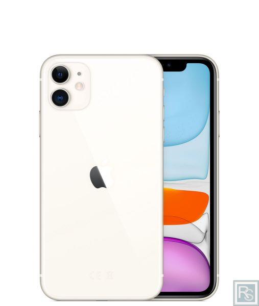 Apple iPhone 11 weiß 128GB ohne Vertrag leasen