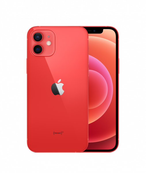 iPhone 12 5G 256GB Product Red I Leasing